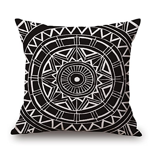 Loveloveu 20 X 20 Inches / 50 By 50 Cm Geometric Pillow Shams,two Sides Is Fit For Christmas,bench,divan,monther,club,deck Chair
