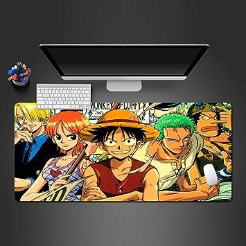 zlxzlx 900X400*3Mm Alfombra De Ratón Juego De Dibujos Animados Juego De Ordenador Tapetes De Mesa Ultra-Delgado No Rizado Personaje Anime Alfombrilla De Ratón: Amazon.es: Electrónica