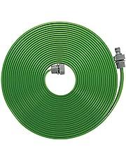 GARDENA Slangsproeier: Fijne nevelsproeier voor het besproeien van langwerpige, smalle zones, lengte 15 m, klaar voor gebruik, groen, kan individueel worden ingekort of verlengd (1998-20)