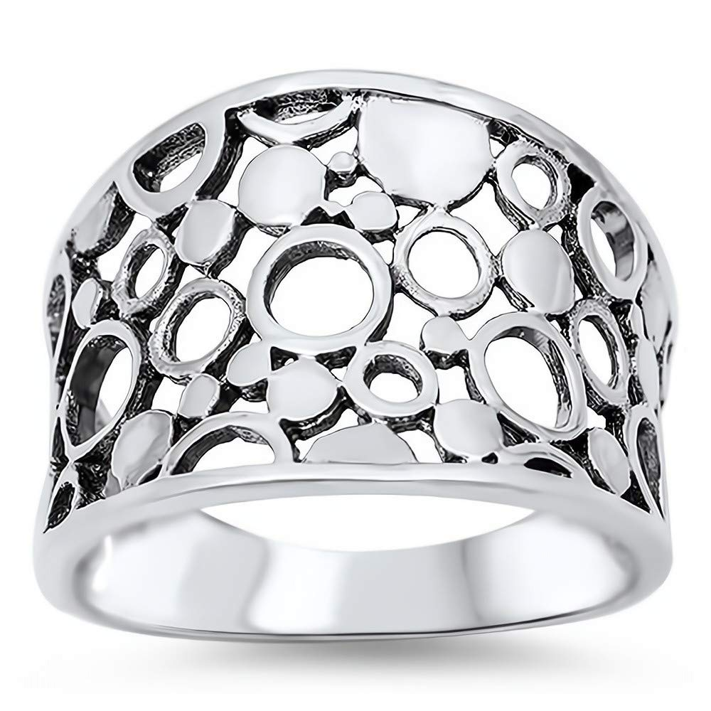 Cute Jewelry Gift for Women in Gift Box Glitzs Jewels 925 Sterling Silver Ring