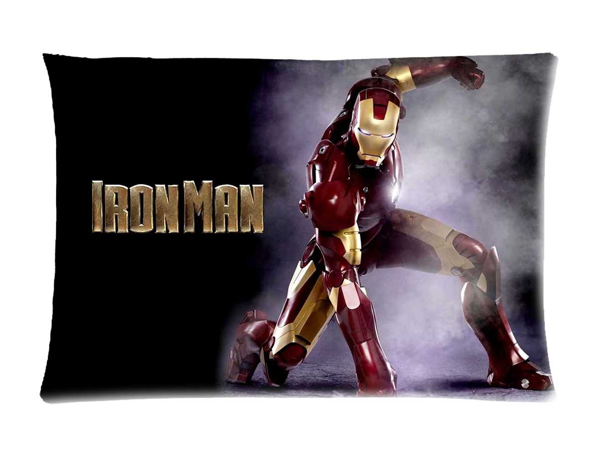 Iron Man Pillow Case
