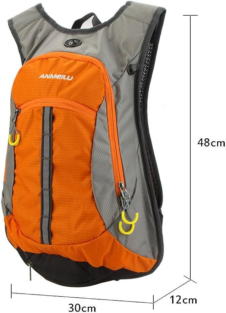 Lixada Bike Backpack,15L Bicycle Shoulder Backpack Waterproof Breathable Rucksack