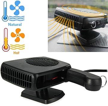 Descongelador de Calentador de Coche, portátil, Temporizador de ...