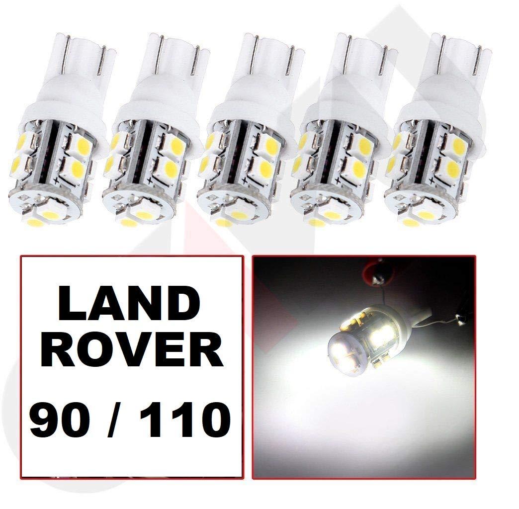 6 x LED Dash/Speedo Upgrade Defender 90/110 4x4 off road v6 v8 4wd TDI kit including Clock CAR-LED