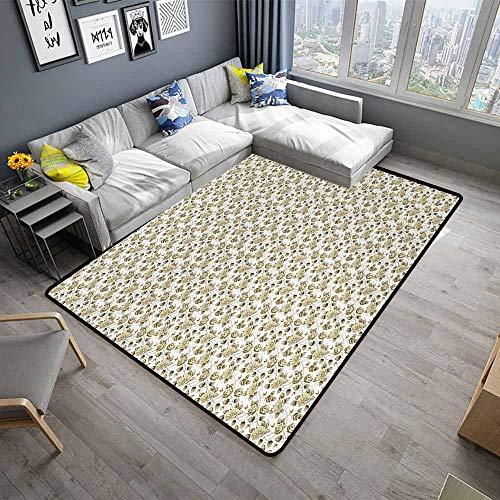 (Vintage,Floor Mats for Living Room 80