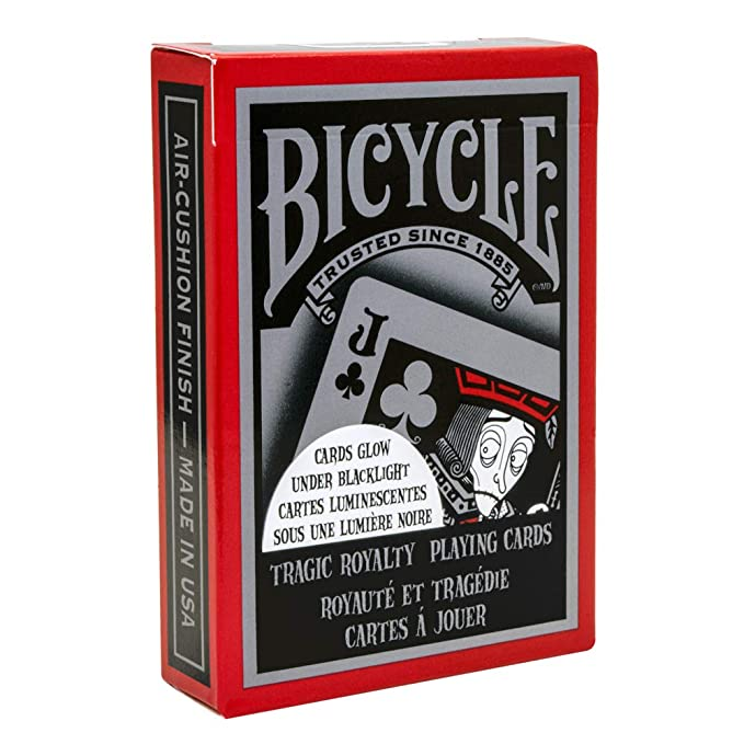 Amazon.com: Bicycle Tragic Royalty Playing Cards: Home ...