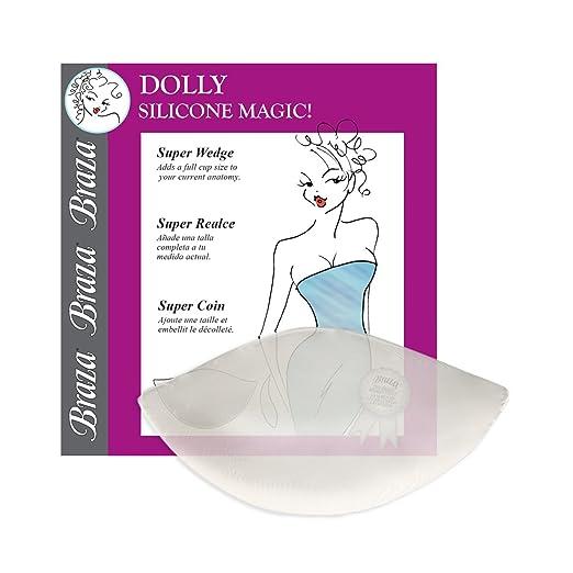 1107452526 Amazon.com  Braza Silicone Dolly Super Wedge Push Up Bra Inserts ...