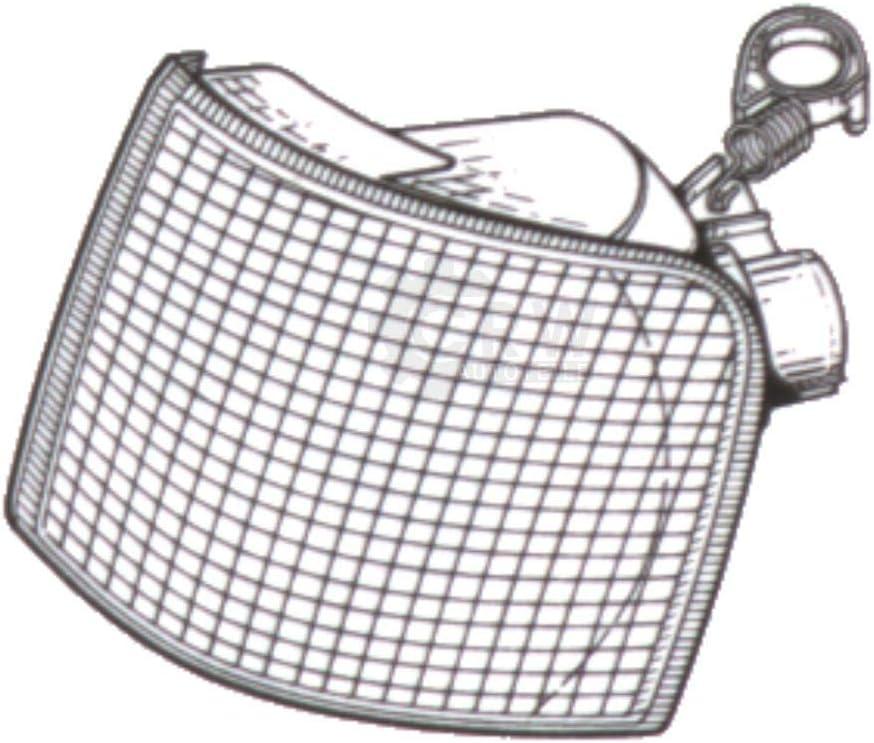 90-95 wei/ßes Blinker Frontblinker Set f/ür Escort Orion Bj