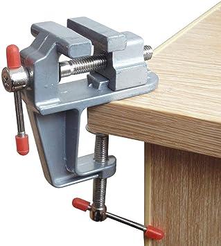Amatt - Mini tornillo ajustable con abrazadera para banco de mesa ...