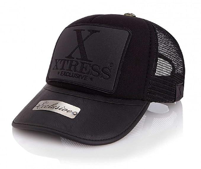 Xtress Exclusive Gorra negra de la marca para hombre y mujer: Amazon.es: Ropa y accesorios
