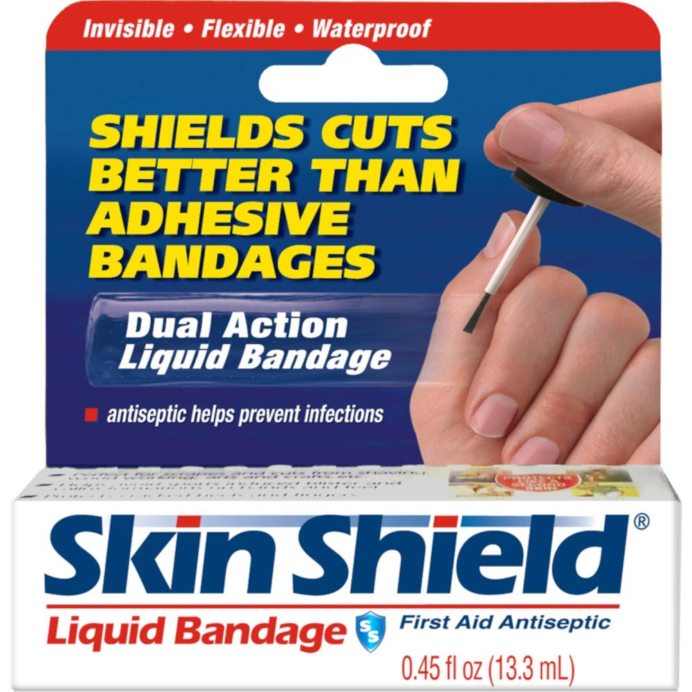 Skin Shield Liquid Bandage 0.45 oz (Pack of 12)