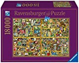 Ravensburger Magical Bookcase Jigsaw Puzzle (18000 Piece)