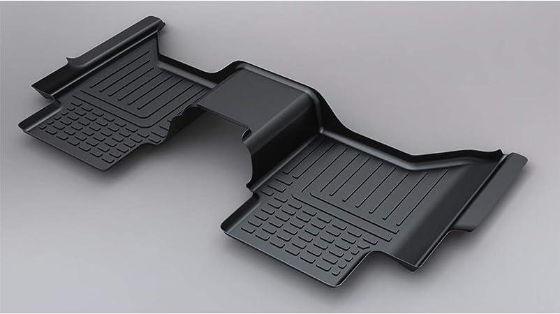 Ford ranger à partir de 2012 neuf noir ajustée heavy duty caoutchouc voiture tapis de sol