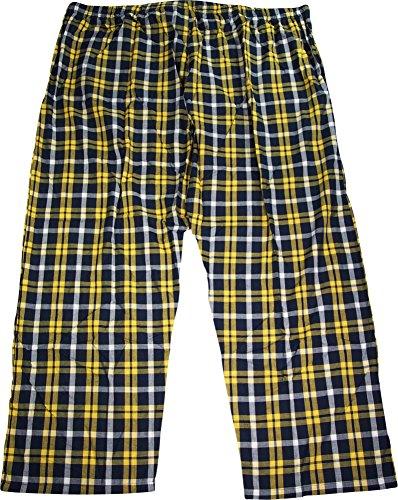Pantaloni Hanes Gold In Uomo Plaid navy Da Tessuto qqpC6Ex