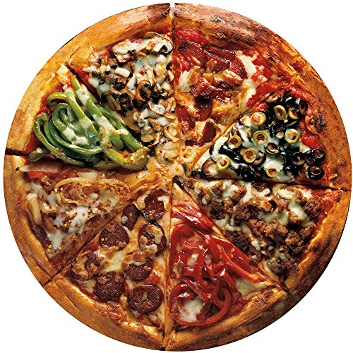 - Bits and Pieces-Pizza Pie - 300 Piece Round Jigsaw Puzzle