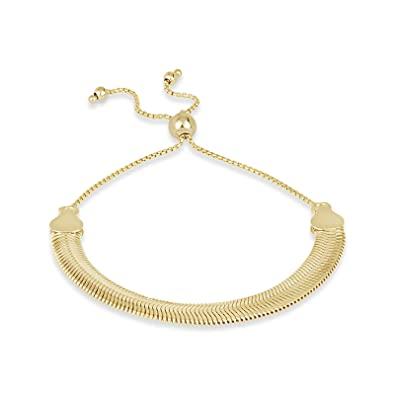 Amazon Com Designs By Helen Andrews 18k Gold Over Sterling Silver
