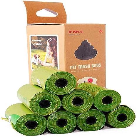 RuiHuang Bolsas para excrementos de Perro compostables ...