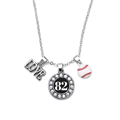 Inspired Silver Silver Circle Charm 18 Inch Necklace with Cubic Zirconia Jewelry
