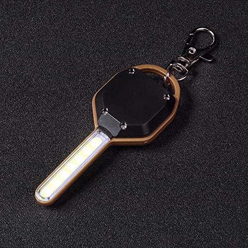Dastrues Mini Torcia a LED Mini Torcia a Forma di Chiave LED Torcia di Emergenza