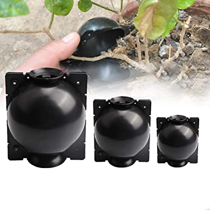 2PCS Plant Rooting Device High Pressure Propagation Ball Pressure Boxs Grafting