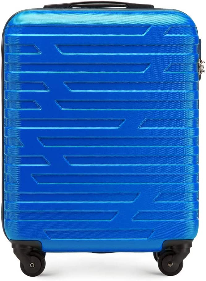 Maleta de equipaje premium para carretilla de WITTCHEN ABS 54 x 39 x 23 cm 2.8 kg 38 L Azul | Equipaje de mano 56-3A-391-90