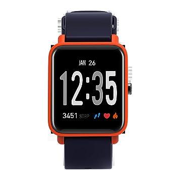 Fitness Tracker IP68 A Prueba De Agua Frecuencia Cardíaca Presión Arterial Oxígeno Temporizador De Sueño Deportivo