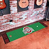 Fan Mats Ohio State University Buckeyes Team Emblem Putting Green Mat/18''x72''