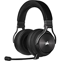 CORSAIR,Slate (XT),CA-9011188-AP Virtuoso RGB Wireless XT High-Fidelity Gaming Headset with Spatial Audio, Slate
