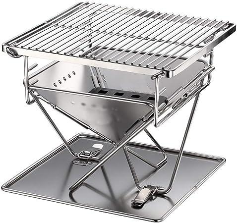 Grille Barbecue Acier Inoxydable Réglable En Hauteur à