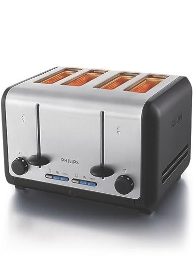 Buy Philips HD2647 20 1800 Watt 4 Slice Toaster Metal Black