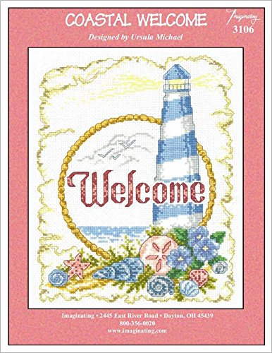 Welcome Stitch Cross Chart (Coastal Welcome (No. 3106) Cross Stitch Chart and Free Embellishment)