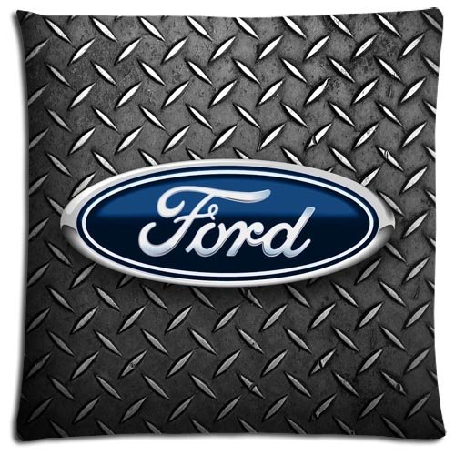16x16 inch 40x40 cm throw pillow shells cases Cotton Polyester Fabric cool Ford mustang (Ford Throw Mustang)