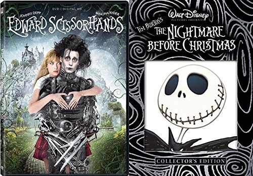 [Tim Burton Set 2-DVD Bundle Edward Scissorhands & Nightmare Before Christmas (Collector's Edition)] (Halloween Sesame Street)