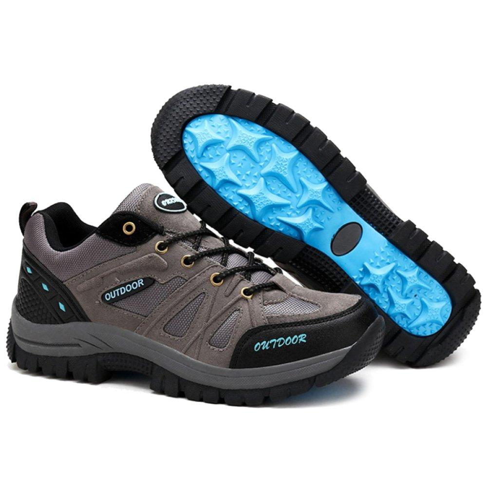 MERRYHE MERRYHE MERRYHE Zapatos De Escalada Al Aire Libre para Hombres Zapatillas De Marcha Nórdica Zapatillas De Montaña De Gran Tamaño Senderismo Trekking Calzado,Gris-41 e840dc