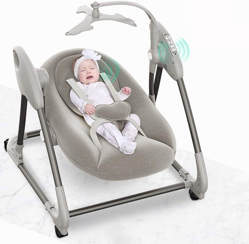 Amazon Com Eterly Stootrel Baby Electric Cradle Swing Chair