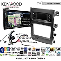Volunteer Audio Kenwood Excelon DNX694S Double Din Radio Install Kit with GPS Navigation System Android Auto Apple CarPlay Fits 2013-2017 Chevrolet Malibu