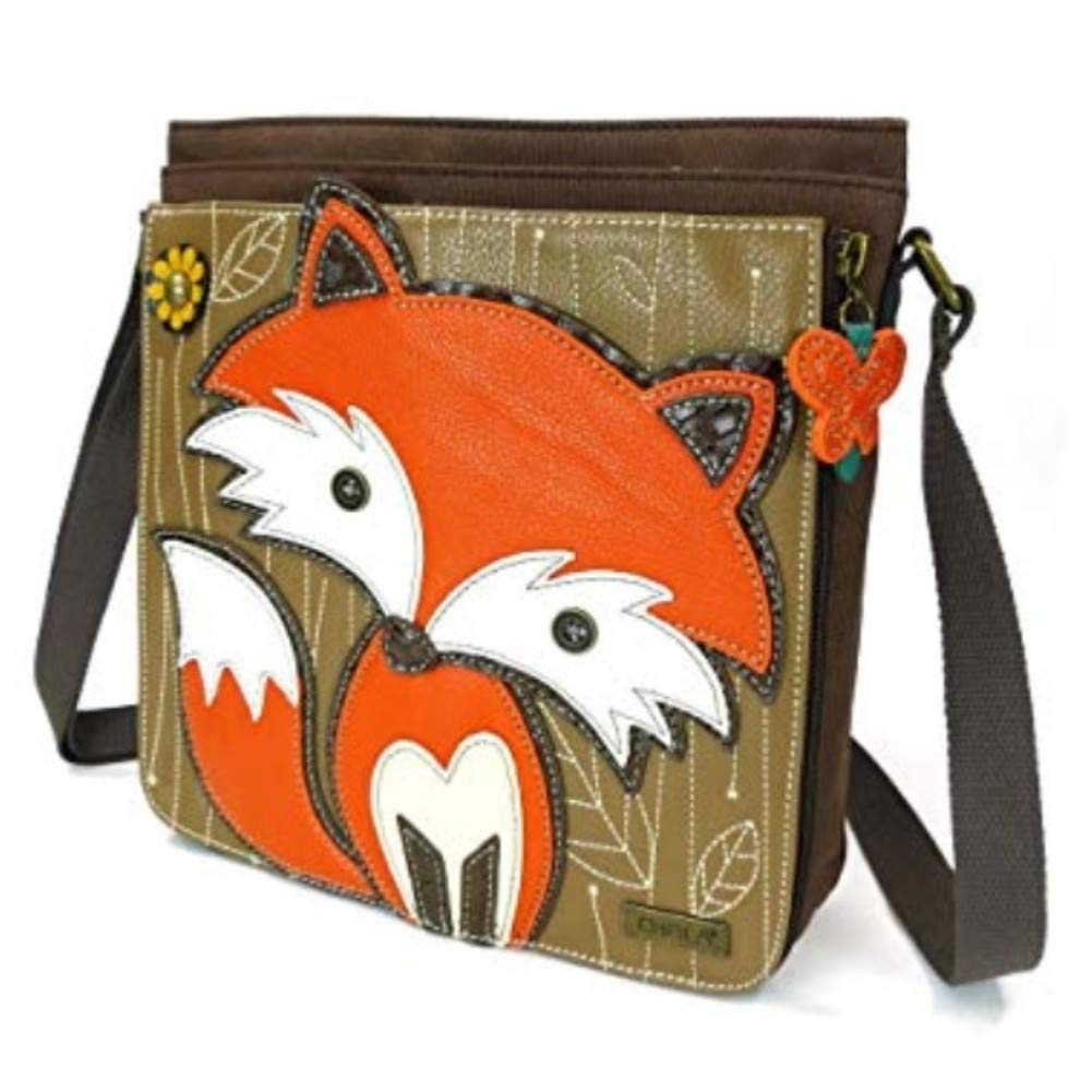 Chala Deluxe Fox Messenger Bag
