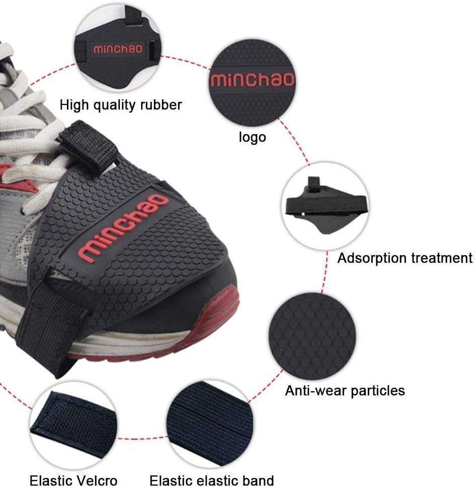 poetryer Cubierta para Zapatillas De Caucho Cubrezapatillas Ciclismo Protector MTB Bicicleta De Monta/ña Cubrezapatos para Hombres Y Mujeres