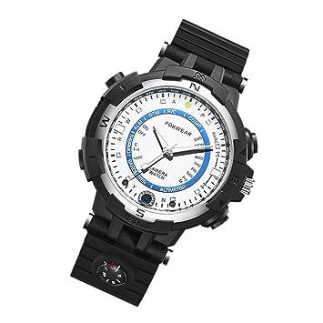 Gazechimp 1x Reloj Inteligente con Manual de Usuario Accesorios de Deportes Acuáticos Aire Libre - Blanco