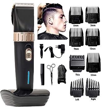 Coupes de cheveux courtes pour les hommes sous la machine sans frange
