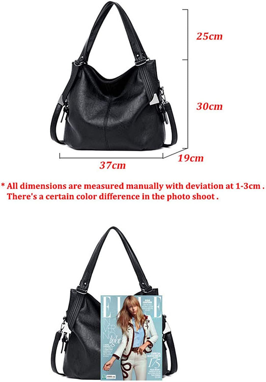 new fashion women leather handbags female leather shoulder crossbody bag ladies large bucket tote bag