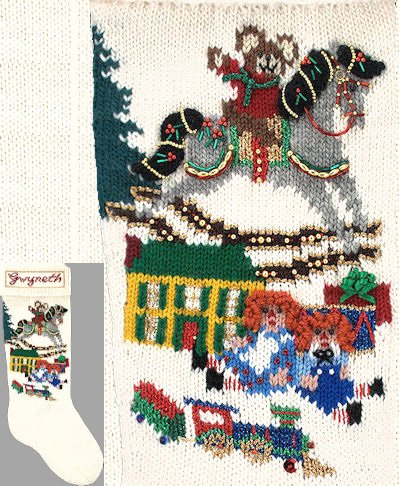 - Elegant Heirlooms Christmas Stockings Kits Christmas Morning