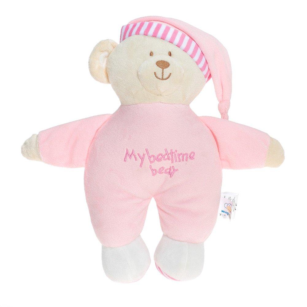 Wingingkids Soothing Stuffed Animals Bedtime Cozy Soft Buddy Bear
