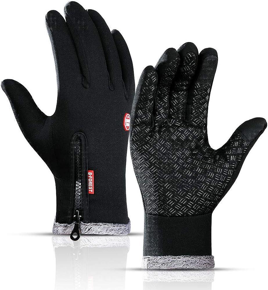 Winter Women Men Outdoor Thermal Touch Screen Gloves Windproof Waterproof Mitten
