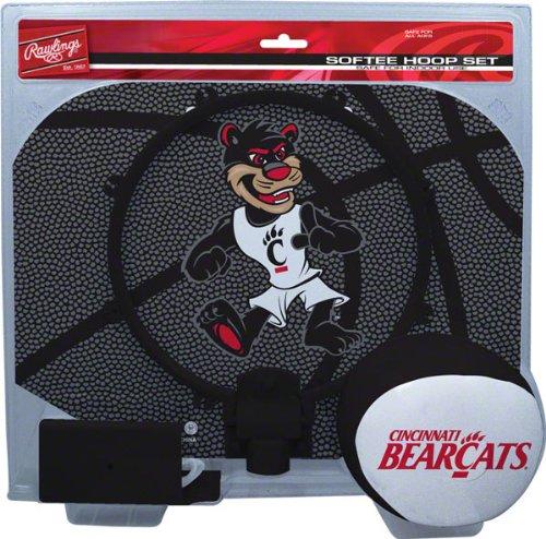 Softee Hoop Set - Rawlings Cincinnati Bearcats Slam Dunk Softee Hoop Set