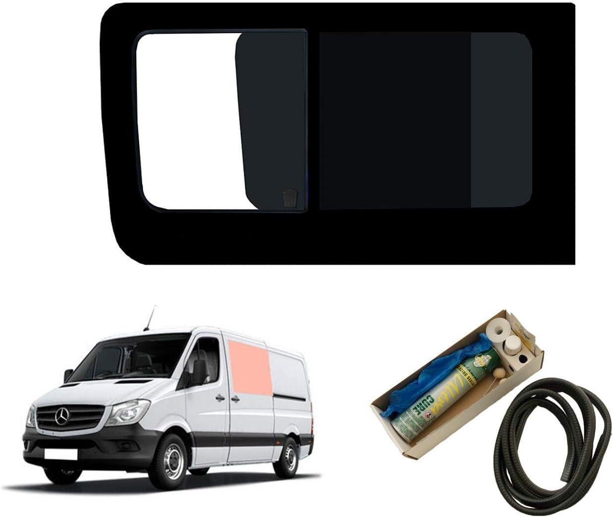 Mano izquierda ventana abatible para puerta corredera, tintado oscuro para Mercedes Sprinter (2006 on): Amazon.es: Coche y moto