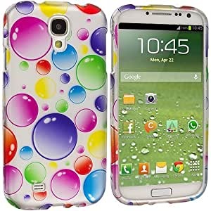 Accessory Planet(TM) Bubbles Hard Snap-On Design Rubberized Case Cover Accessory for Samsung Galaxy S4