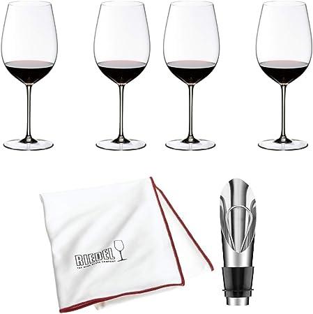 Riedel Sommeliers Bordeaux Grand Cru Verre à vin, Lot de 4