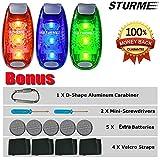 STURME LED Safety Light Strobe lights for Daytime Running...