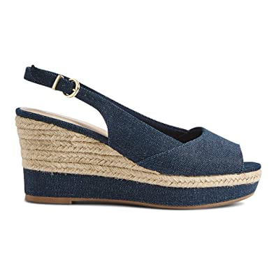 ca9bd5bbe64 The Outlet London Ex Marks   Spencer M S Collection T021155W T021156W Wide  Fit Wedge Heel